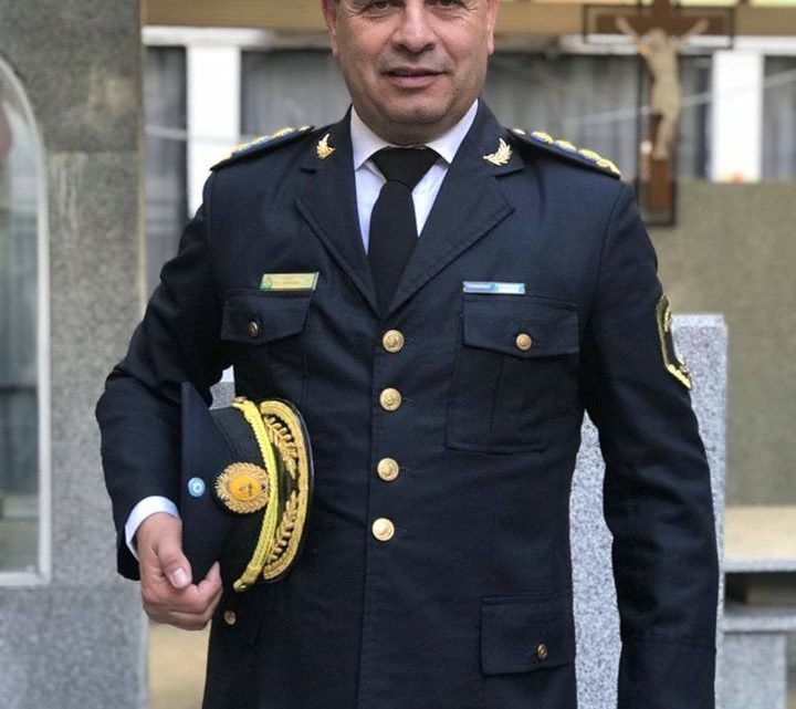 Pasó por Chascomús y RanchosFernando Arrubia, ¿será el nuevo titular de la policía provincial?