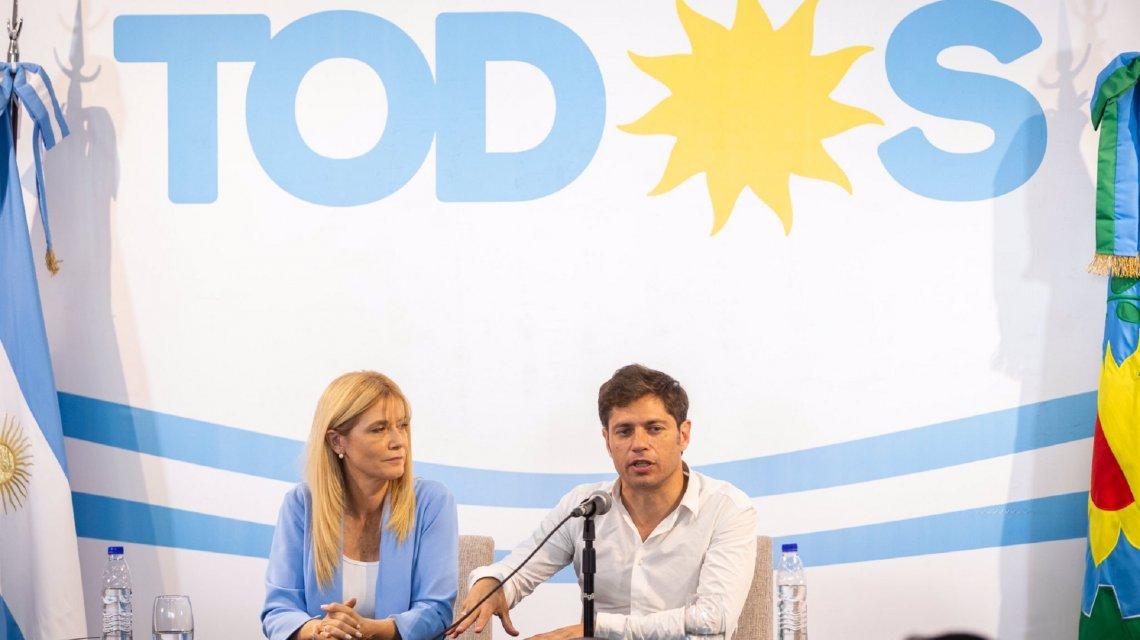 Anuncio oficial de KicillofEl gabinete de principales colaboradores del gobernador