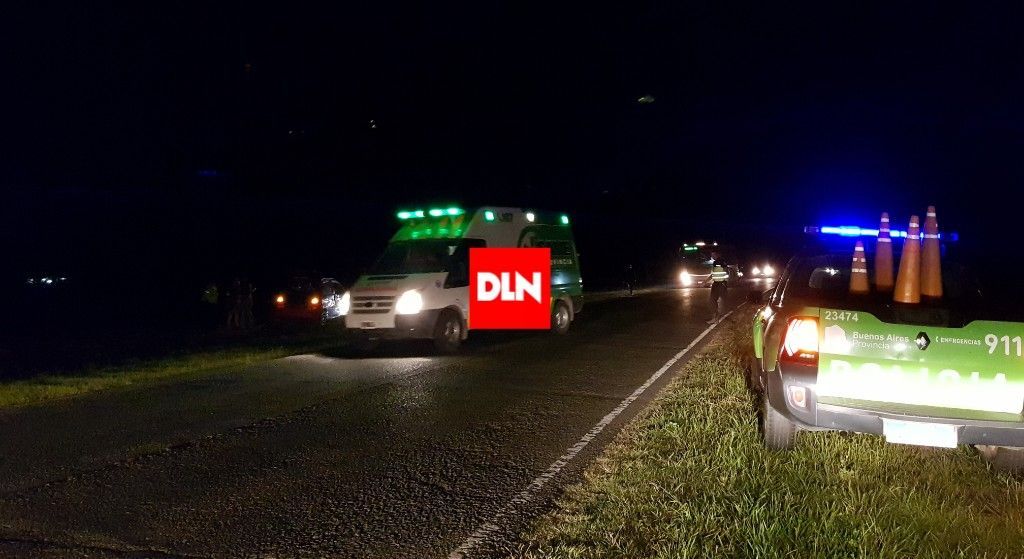 BRANDSEN:Despistó un auto en ruta 215