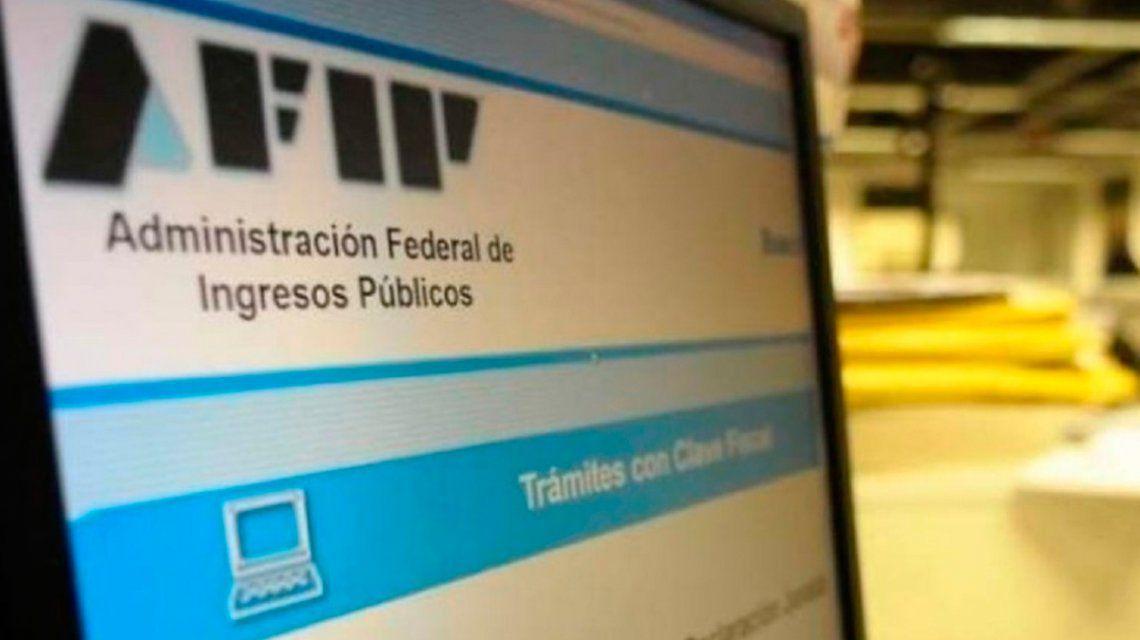 Monotributo:La AFIP suspendió también en mayo las bajas de oficio por falta de pago