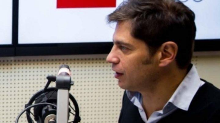 """Entrevista con Radio ProvinciaAxel Kicillof: """"los especialistas nos han dado elementos para sostener lo que estamos haciendo"""""""