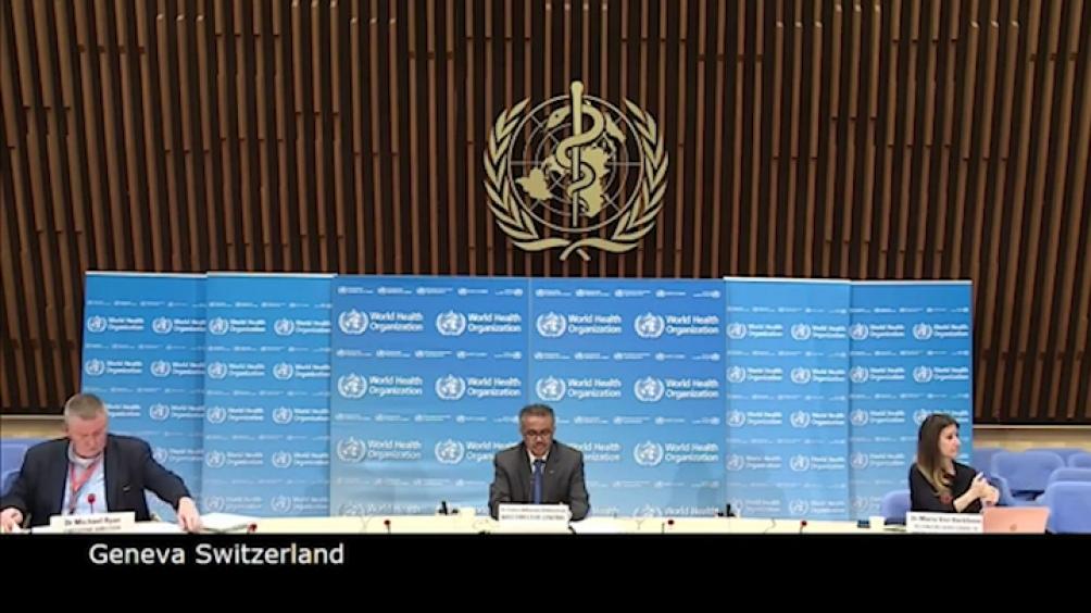 La OMS advirtió«Ni siquiera está cerca» el fin de la pandemia