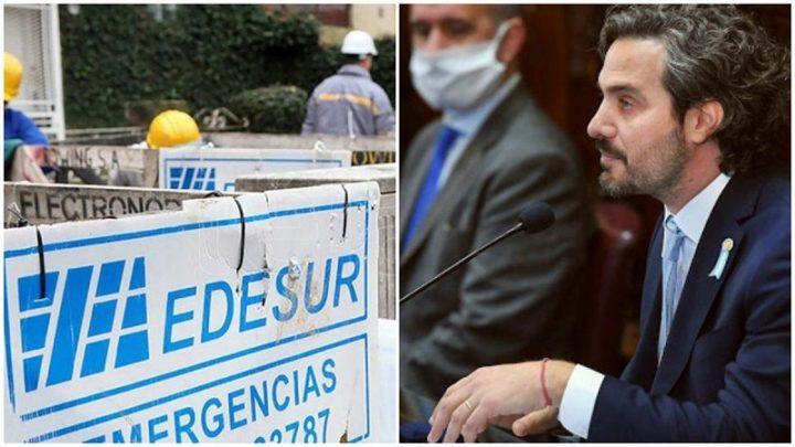 Quejas y protestas de intendentes del conurbanoSantiago Cafiero reclamó por un mejor servicio de Edesur, pero descartó la estatización de la empresa