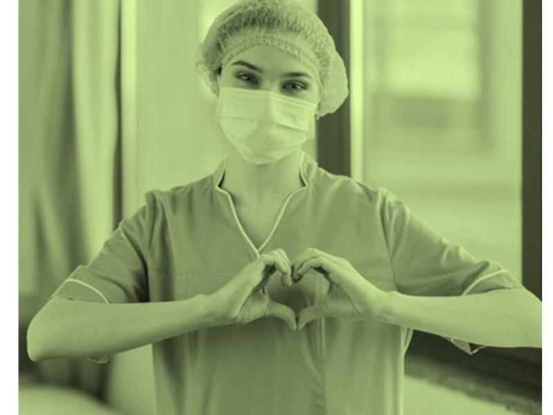 Merecido homenajeLa he visto en los Hospitales, a veces sin elementos…