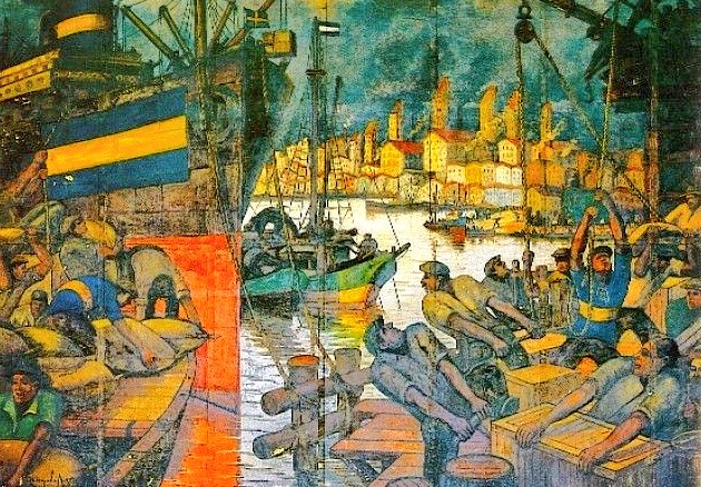 """El Van Gogh Argentino""""no pinta el que tiene ganas sino el que sabe pintar"""""""