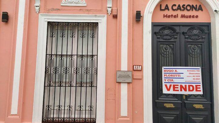 Valor patrimonialEl ex arquero Gastón Sessa compró la casa donde vivió Raúl Alfonsín