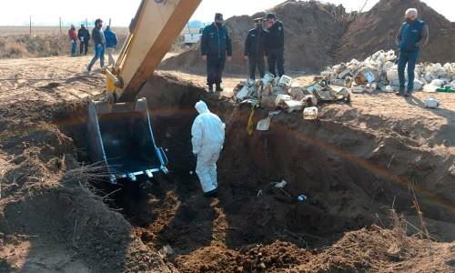 En La Pampa investigan el daño por entierroInvestigan el daño que causaron los envases de agroquímicos