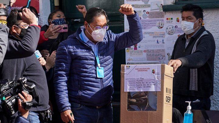 EleccionesLuis Arce ganó en primera vuelta en las elecciones en Bolivia