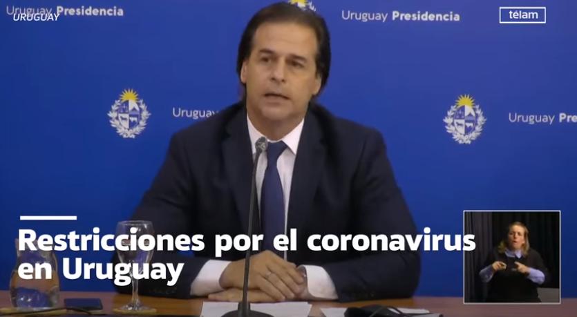 Cierre de fronteras en Uruguay:«No nos trae alegría», dicen desde el gobierno