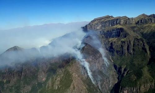 JujuyMás de 5000 ha quemadas en el Parque Nacional Calilegua