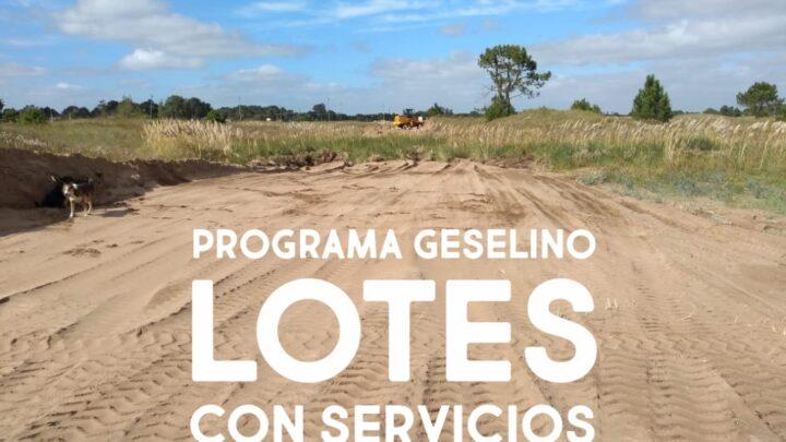 En el distrito costeroPese a las críticas, avanzan con un proyecto de lotes con servicios para cientos de familias gesellinas