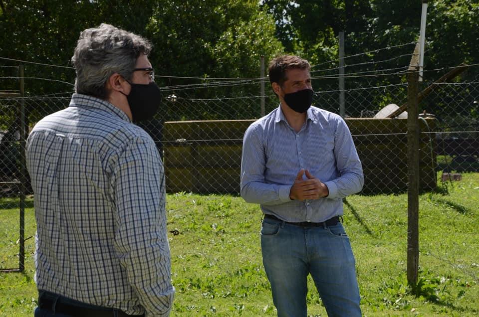 Entre otras cosas, financiarán un frigorífico municipalImportantes anuncios del ministro de Desarrollo Agrario Javier Rodríguez, en Pila y Chascomús