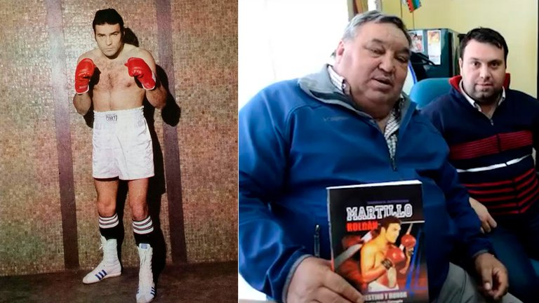 Dolor en el mundo del boxeo:Murió el mítico Martillo Roldán por coronavirus