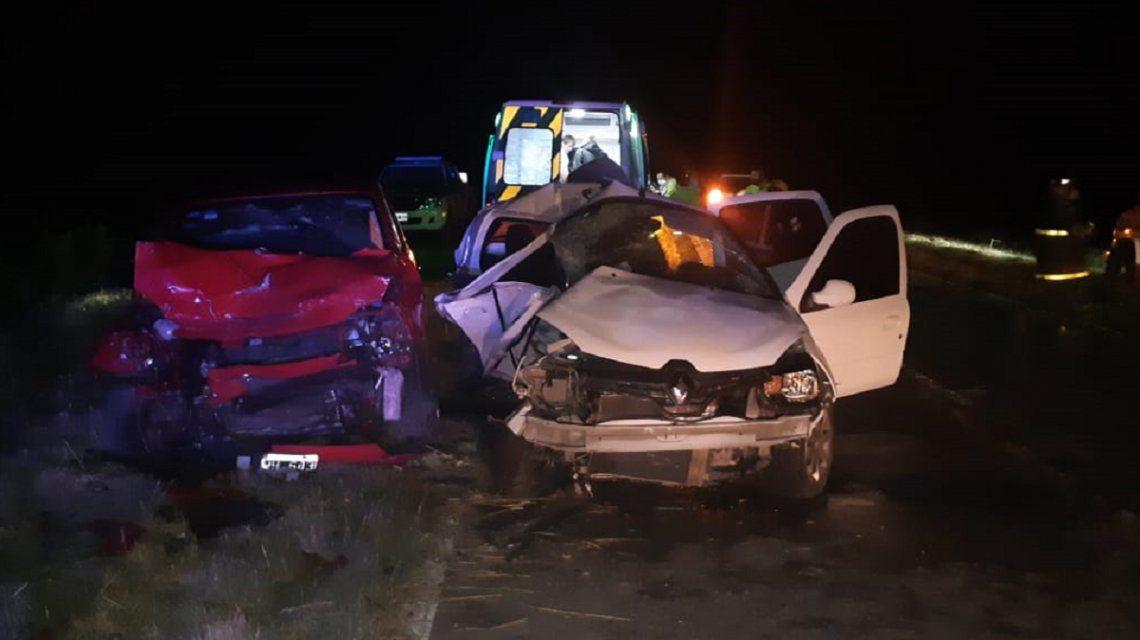 Ruta 56Dos chicas murieron y una mujer perdió un embarazo en un choque a la altura de General Madariaga