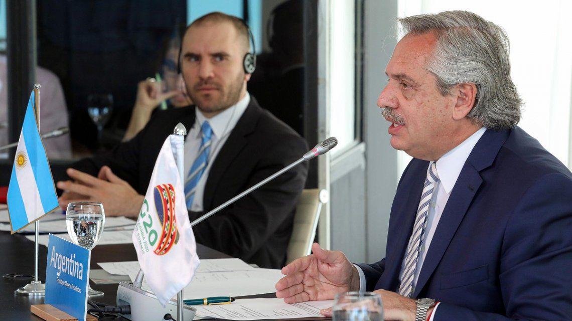 Alberto Fernández, ante el G20:«Impulsaremos la economía y mantendremos la estabilidad financiera»