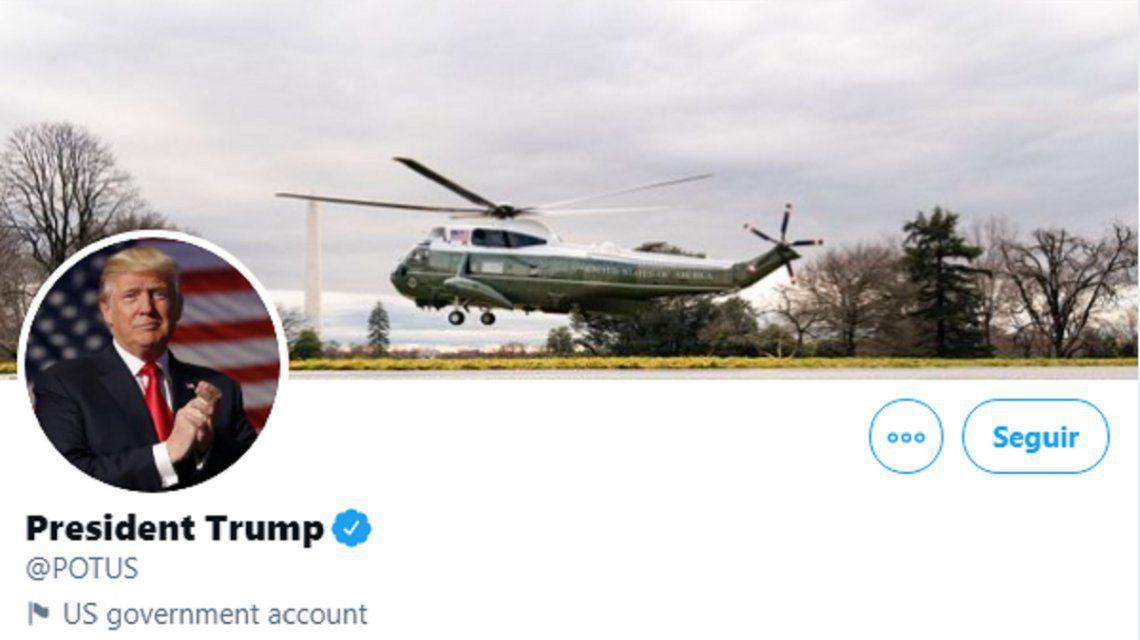 "A pesar del ""fraude"" que denuncia Donald TrumpTwitter ya decidió que en enero asumirá Joe Biden"