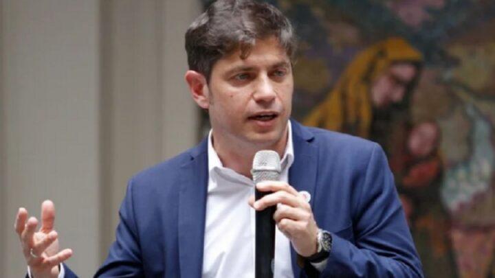 """Provincia de Buenos AiresKicillof: """"Van a buscar a los jueces para tomar decisiones que no pudieron conseguir por las urnas"""""""