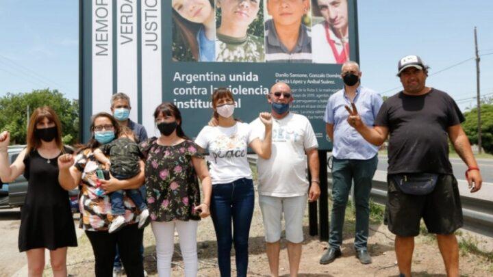 """Donde murieron 4 JóvenesSeñalizan como """"Sitio de Memoria"""" el lugar donde ocurrió la Masacre de Monte"""