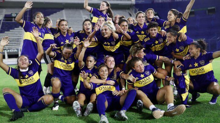 final del torneo femeninoBoca arrolló 7-0 a River  y es el primer campeón de la era profesional