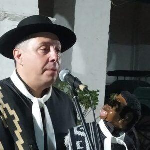 Espectáculo de payadas y ventriloquíaEl artista Juan Lalanne sumó aplausos y reconocimientos en el Museo Pampeano