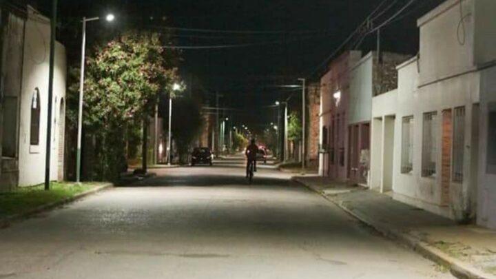 Ranchos:Continúan los trabajos en iluminación