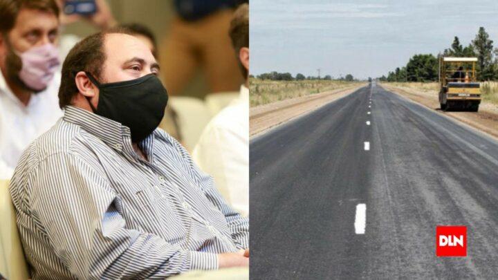 Un costo aproximado de 700 millones de pesosÁlvarez firmó contrato para la repavimentación de ruta 215 entre Loma Verde y Udaondo