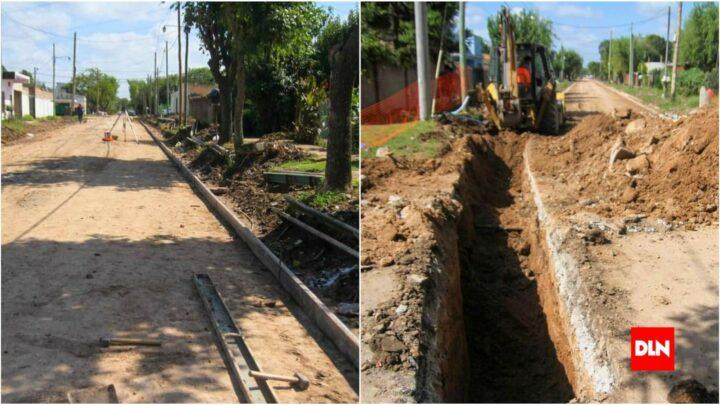 San VicenteAvanzan a muy buen ritmo las obras hídricas en San Vicente y Alejandro Korn