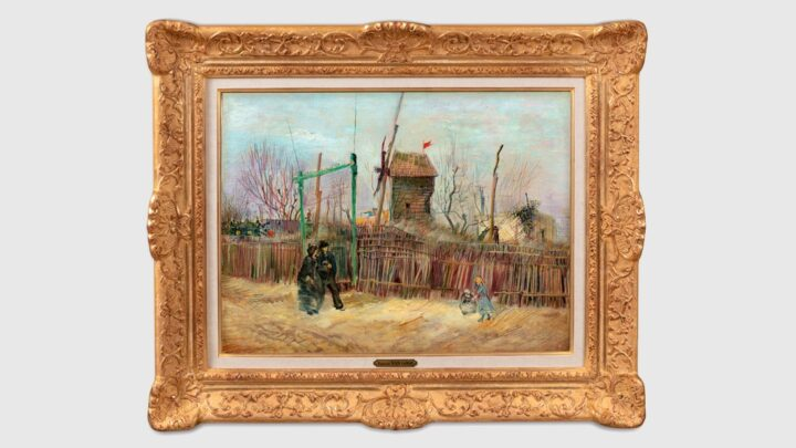 Por 13 millones de eurosSubastaron un cuadro atípico de Van Gogh