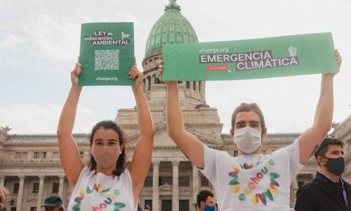 Medio AmbienteMedia sanción para la ley de educación ambiental