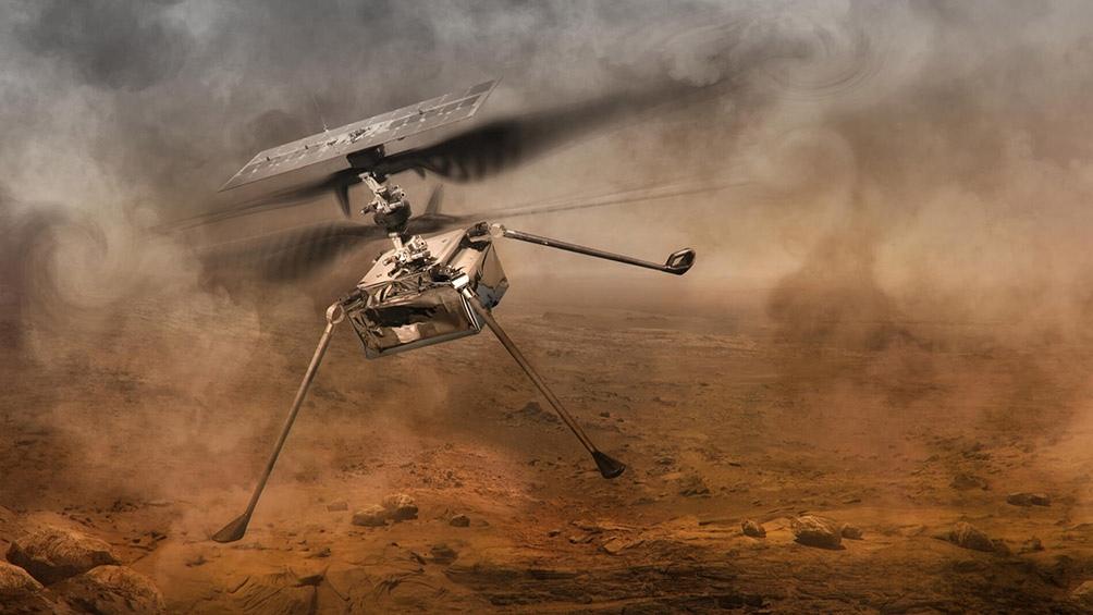 Primer vuelo por MarteLa Nasa retrasará el primer vuelo en Marte de su mini helicóptero