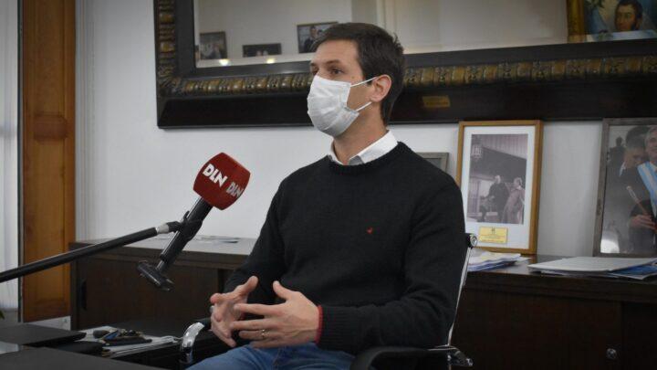 San VicenteMantegazza: «Estoy orgulloso de este gobierno nacional y provincial, que ha puesto en primer lugar la salud y la vida»