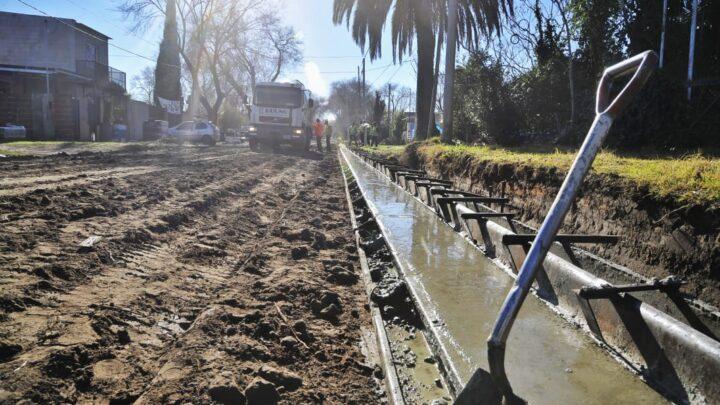 En la RegiónContinúan las obras en Saladillo, Roque Pérez y Brandsen