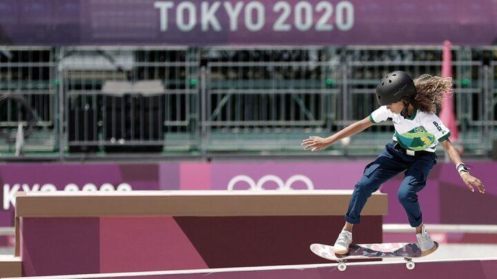 Tokio 2020Rayssa Leal, plata con 13 años en skate, hada y leyenda del deporte de Brasil