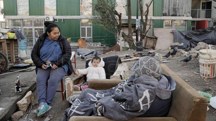 Tensión en el Barrio 31Las familias sin techo denuncian que el gobierno porteño envió policía en vez de dialogar
