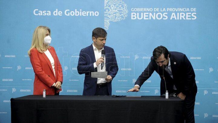 La PlataAsumió Kreplak como ministro de Salud bonaerense y remarcó que «nadie se salva solo»