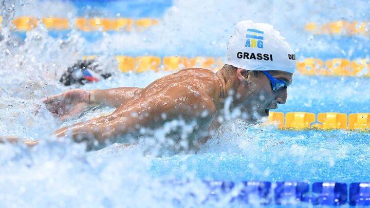 Tokio 2020«Ha sido bastante difícil llegar a estos Juegos Olímpicos», afirmó el nadador Grassi