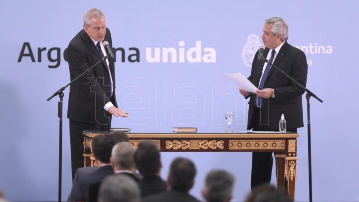 Juraron los nuevos ministrosFernández: «No somos parte del país que quiere flexibilizar derechos de los que trabajan»