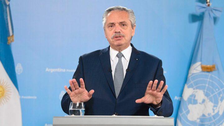 Asamblea de las Naciones UnidasFernández criticó el «endeudamiento tóxico e irresponsable» de Cambiemos con el FMI