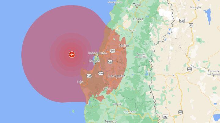 AlertaUn sismo de 6,6 Richter golpeó el sur de Chile