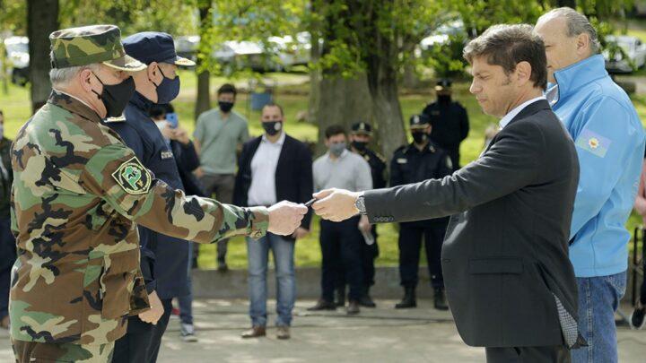 Plan  de seguridad ingregralPara Axel Kicillof, «hay un cambio de raíz en la policía de la provincia de Buenos Aires»