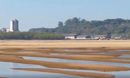 El río Paraná volvió a estar por debajo del cero en Entre RíosEl Paraná nuevamente en Entre Río por abajo del 0